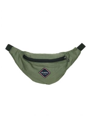 Jack and Jones Carl Bumbag in Forest Night