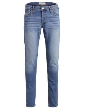 Jack and Jones Glenn Original Jeans in Light Blue Denim