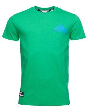 Superdry Sport Mono Mini T-shirt in Bright Green