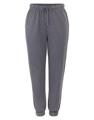 Pieces Chilli Washed Sweat Pants in Ombre Blue