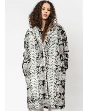 Religion Ray Faux Fur Coat