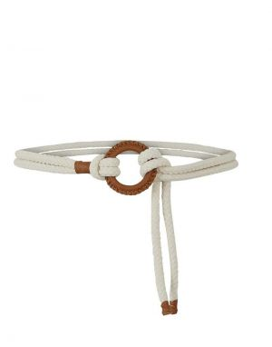Pieces Lea Rope Waist Belt