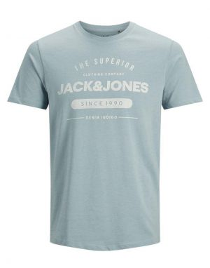 Jack and Jones Jeans T-shirt in Faded Denim