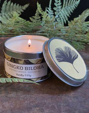 Vanilla Fly Soy Wax Candle - Gingko Biloba
