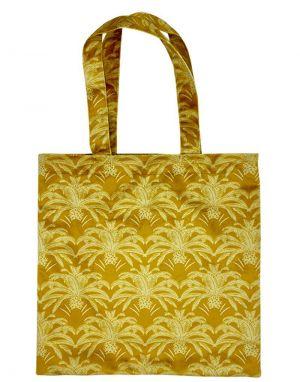 Vanilla Fly Velvet Tote Bag - Print 9