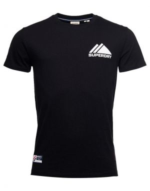 Superdry Sport Mono Mini T-shirt in Black