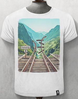 Dirty Velvet Paradise Lost T-shirt in Vintage White