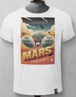 Dirty Velvet Life on Mars T-shirt - White