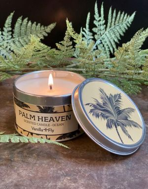 Vanilla Fly Soy Wax Candle - Palm Heaven