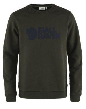 Fjallraven Logo Sweater - Deep Forest
