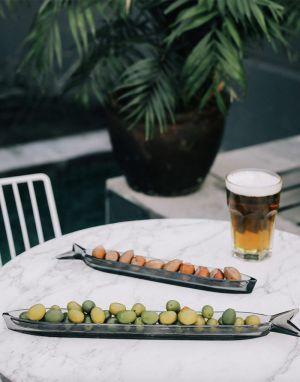 DOIY Cadaques Serving Plate Large - Slate