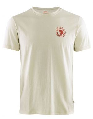 Fjallraven 1960 Logo T-Shirt in Chalk White